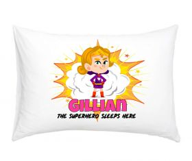 Personalised Superhero Pillowcase - BLG01