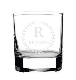 Personalised Whiskey Glass -  Lux123_CWV