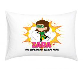 Personalised Superhero Pillowcase - GNG01