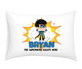 Personalised Superhero Pillowcase - BLB05