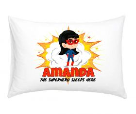 Personalised Superhero Pillowcase - BRG08