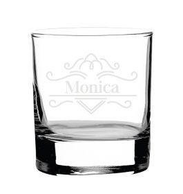 Personalised Whiskey Glass -  Lux72600_TBLINES