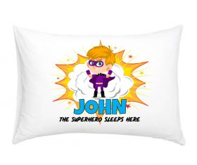 Personalised Superhero Pillowcase - PUBL02