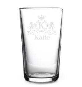 Personalised Highball Glass - Lux0076_LION