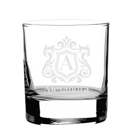 Personalised Whiskey Glass - Lux09091_ShapeBX