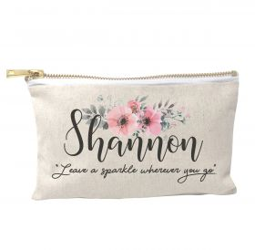 Personalised Make Up Bag - Leave a Sparkle