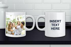 Personalised White Photo Mug