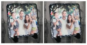 Personalised Photo Slate - Square Shaped Buy 2