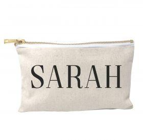 Personalised Make Up Bag - Just Name