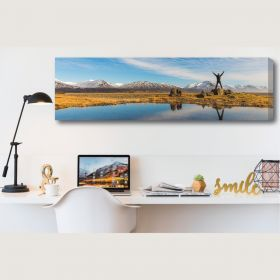 Personalised Canvas Panoramic 30in x 10in