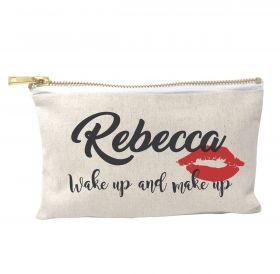 Personalised Make Up Bag - Lips