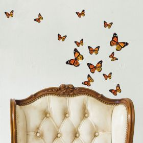 21 x Monarch Butterflies (Orange)