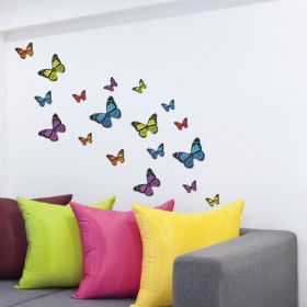 21 x Monarch Butterflies (Mixed Colour Pack)