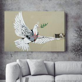 Pigeon Bomber Banksy Canvas