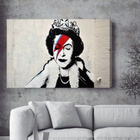 Queen Ziggy Stardust Banksy Canvas