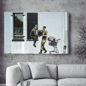 Soldier Banksy Canvas