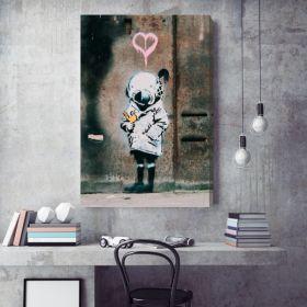The Little Diver Banksy Canvas