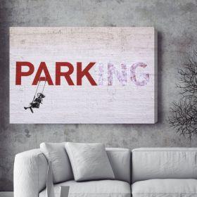 Parking Banksy Canvas