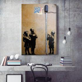 Tesco Flag Banksy Canvas