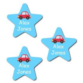 30 Star Car Name Labels