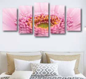 Close Up Flower Canvas (1315 RMC 5 Panel)