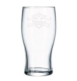 Personalised Pint Beer Glass - Lux72600_TBLINES
