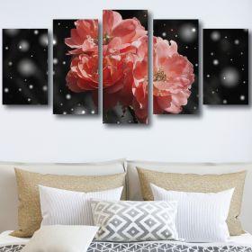 Flower Background Canvas (1320 RMC 5 Panel)
