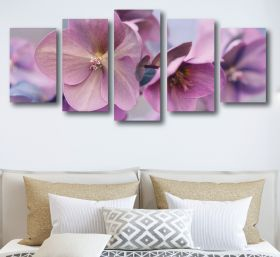 Flower Blooming Canvas (1312 RMC 5 Panel)