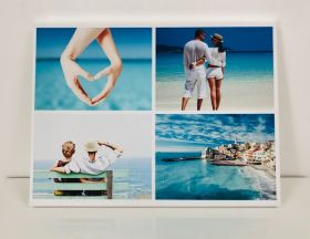 Personalised Collage Canvas - Four Images