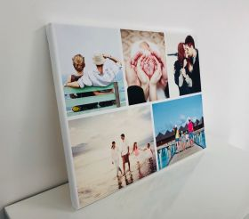 Personalised Collage Canvas - Five Images