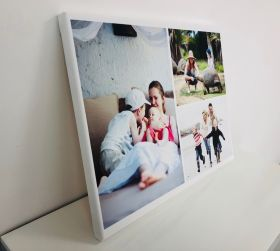 Personalised Collage Canvas - Three Images