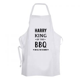 King of the Kitchen - Personalised Apron