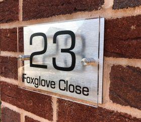 Personalised Acrylic Metal Door Sign