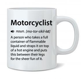 Motorcyclist Mug