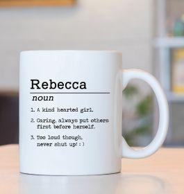 Personalised Name Definition Mug