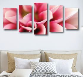 Pink Flower Canvas (1313 RMC 5 Panel)
