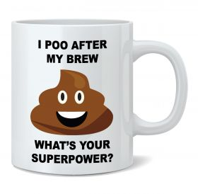 What's Your Superpower? (Poo) Mug