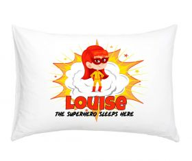 Personalised Superhero Pillowcase - R01