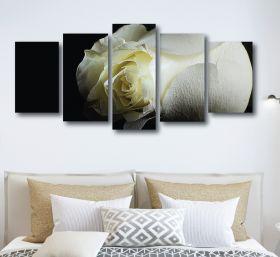 Rose Canvas (1318 RMC 5 Panel)