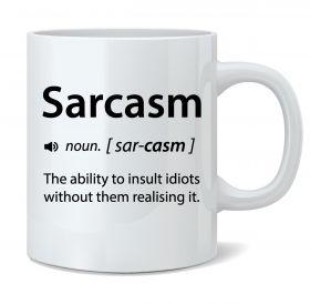 Sarcasm (short_033_v1) Mug