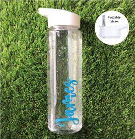 Personalised Name Water Bottle (NDF) - Sky Blue