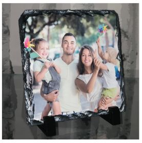 Personalised Photo Slate - Square Shaped Buy 1