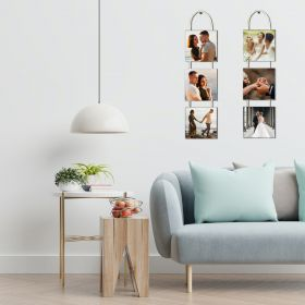 Personalise 3 Hanging Panels - Square Shaped