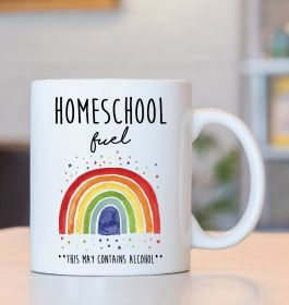 Homeschool Fuel - This may contains alcohol