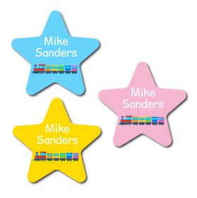 30 Star Train Name Labels
