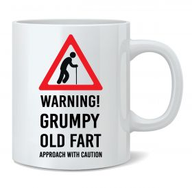 Warning! Grumpy Old Fart Mug