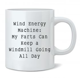 Wind Energy Machine Mug