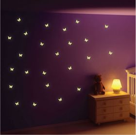 22 Glow In The Dark Butterflies