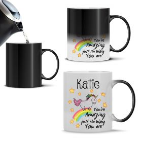Personalised Name Unicorn Magic Mug (You're Amazing)